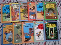 Série Complète De 22 Aventures De Tintin En 11 Albums Doubles - Tintin