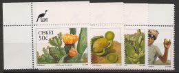 Ciskei - 1990 - N°Yv. 179 à 182 - Prickly Pear - Neuf Luxe ** / MNH / Postfrisch - Ciskei