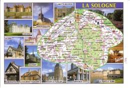 REGION LA SOLOGNE - Maps