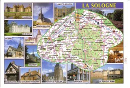 REGION LA SOLOGNE - Mapas