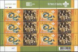 Ukraine, 2007, Mi. 856-57, Y&T 781-82, Sc. 680, SG 758-59, Europa, Centenary Of Scouting, MNH - Ukraine