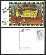 South Africa 1998. MANDELA 80 Happy Birthday Postcard. - South Africa (1961-...)