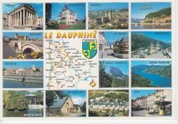 REGION LE DAUPHINE - Mapas