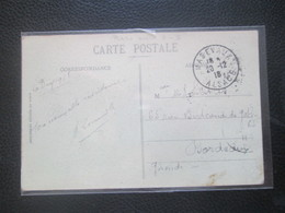 Cachet MASEVAUX 20 12 18 ALSACE - Marcofilia (sobres)
