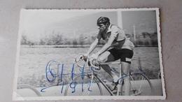 1952-FAUSTO COPPI -CARTOLINA AUTOGRAFA - Autographs