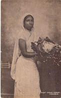 CARAÏBES - TRINIDAD & TOBAGO : East Indian Woman - CPA - ( Caribbean Caraïbes Karibik Caribe Caraibi ) - Trinidad