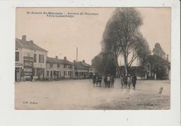 CPA - ST SAINT GEOURS DE MARENNE - Avenue De Bayonne - Villa Lassaubatju - Pub Huiles Renault - France