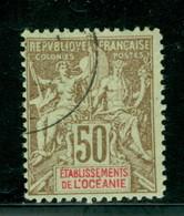 Oceanie 20 Navigation & Commerce, Oblitere, Forgery, Scott 18 Used - Oceania (1892-1958)