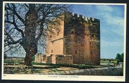 CYPRUS  - KOLOSSI Castle - Edition Raphael Tuck , About 1955 .CHYPRE Chateau - Fort  Des Croisées - Cyprus