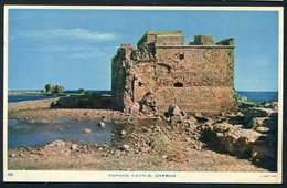 CYPRUS  - PAPHOS Castle - Edition Raphael Tuck , About 1955 .CHYPRE Chateau - Fort  Médieval - Cyprus