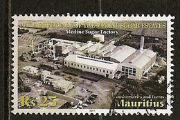 Maurice Mauritius 2011 Sugar Factory Obl - Mauritius (1968-...)