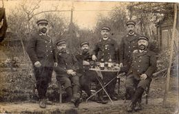 SERVICE REGIMENT ET POSTES (CARTE PHOTO ) RARE - Guerre 1914-18