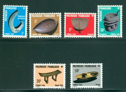 Polynesie Taxe 4-9 Neuf** Sans Charniere, Scott J31-36 Mint NH - Timbres-taxe