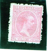 B -. 1894 Cuba - Re Alfonso XIII - Used Stamps