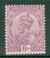 India: 1911/22   KGV      SG182    8a    Purple     MH - India (...-1947)