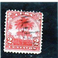 B -. 1899 Cuba - Palma Da Cocco - Used Stamps