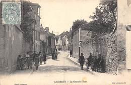 78-ANDRESY- LA GRANDE RUE - Andresy