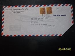 Korea, South, R.O.K.: 1972 Air Cover To USA-Faulty Envelope (#WF12) - Korea, South