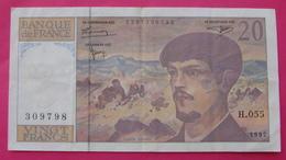 FRANCE 20 FRANCS 1997 - 20 F 1980-1997 ''Debussy''