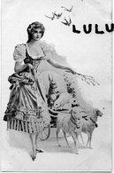 FEMMES 586 : Moutons Attelé Portant Des Lapins  ; Edit. ? - Femmes