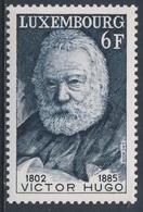 Luxemburg Luxembourg 1977 Mi 943 YT 893 ** Victor Hugo (1802-1885) Writer / Dichter, Schriftsteller / Poète - Schrijvers