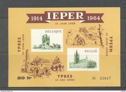 E 89 IEPER  BLOK   POSTFRIS** 1964 - Commemorative Labels