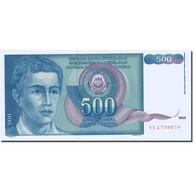 Billet, Yougoslavie, 500 Dinara, 1990, 1990-03-01, KM:106, SPL - Yugoslavia