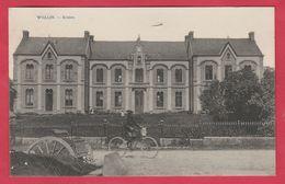 Wellin - Ecoles ... Cycliste - 1922  ( Voir Verso ) - Wellin