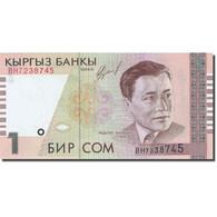 Billet, KYRGYZSTAN, 1 Som, 2000, 1999, KM:15, SPL - Kirghizistan
