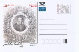 Tchéquie / Cartes Post. (Pre2014/05) Galileo Galilei (1564-1642) Astronome, Physicien, Ingénieur, Philosophe Italien - Astronomie