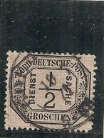 ALLEMAGNE - Confédération Du Nord - Service N° 3 Côte 450€ - Norddeutscher Postbezirk
