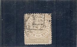 ALLEMAGNE -  Confédération Du Nord --- N° 17 Côte 11€ (attention Angle) - Norddeutscher Postbezirk