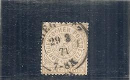 ALLEMAGNE -  Confédération Du Nord --- N° 17 Côte 11€ Dents Coupées - Norddeutscher Postbezirk
