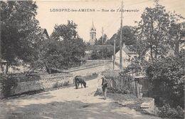 80-LONGPRE-SUR-AMIEN- RUE DE L'ABREUVOIR - France