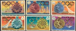 Korea 1583-1588 Montreal Olympics, 3D, Lenticular, Mint Never Hinged, Scott 1550-1555 - Korea, North