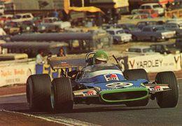 Henri Pescarolo - Matra MS120  -  Grand Prix D'Espagne 1970  -  Carte Postale - Grand Prix / F1
