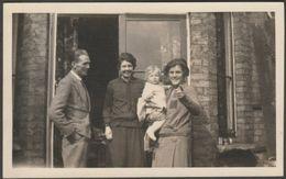 A Family Group, C.1940 - K Ltd RP Postcard - Photographs