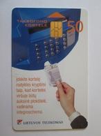 Latvia/Lettonie Phonecard/telecarte 50 - Latvia