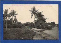 CPA Cochinchine Gare Train Chemin De Fer Non Circulé Bien Hoa - Viêt-Nam