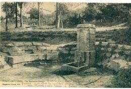 54 - Pont à Mousson : La Fontaine Rouge - Pont A Mousson