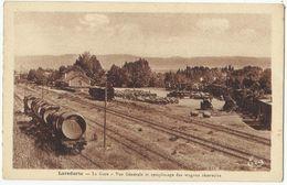 11. LAREDORTE - La Gare - Vue Générale Et Remplissage Des Wagons Réservoirs - Otros Municipios