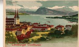 LENZBURGER CONFITUREN LUZERN -ADVERTISING-AUTENTICA 100% - Autres