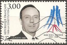 "France 1998 Oblitéré N° 3129    ""   Michel Debré - Used Stamps"