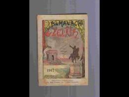 .AGD1   ALMANACH De L' éclair  ANNEE  1917  Calendrier 12 PLEINES PAGES   Militaria  200 P  PARFAIT ETAT VOIR PHOTOS - Calendars