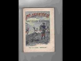 .AGD1   ALMANACH  DES  NOUVELLES GALERIES  ANNEE  1914.. MONTPELLIER Beaux Calendriers Chasse Militaria .VOIR PHOTOS - Calendars