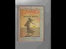 .AGD1   ALMANACH  DES  NOUVELLES GALERIES  ANNEE  1915.. MONTPELLIER Beaux Calendriers.militaria .VOIR PHOTOS - Calendars