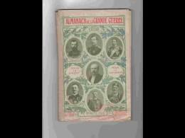 .AGD1   91   ALMANACH De La GRANDE GUERRE  1916 Tout Sur  Armée Politique 145 P Godard à Lyon - Calendars