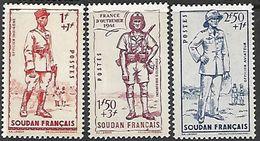 French Sudan  1941   Sc#B11-3  Set  MNH   2016 Scott Value $5.50 - Sudan (1894-1902)