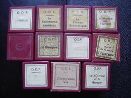 Lot FILM FIXE 35mm BANQUE ECONOMIE Commerce Epargne Monnaie Assurance Vie - Bobines De Films: 35mm - 16mm - 9,5+8+S8mm