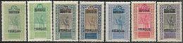 French Sudan  1921-30   7 Diff  MH To The 5fr  2016 Scott Value $18.45 - Sudan (1894-1902)